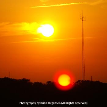 Nibiru Solar Lens Flare Mistakes